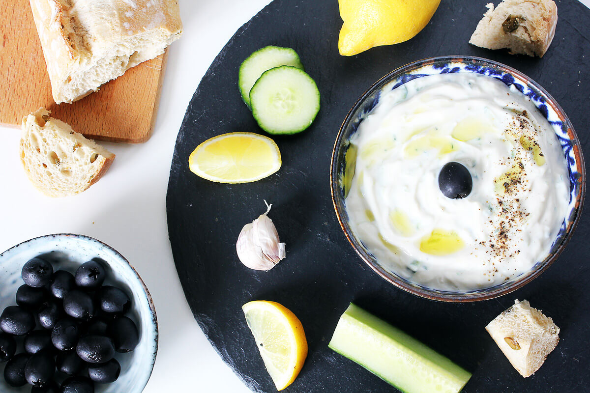Vegan Tzatziki – Greek Yogurt Dip