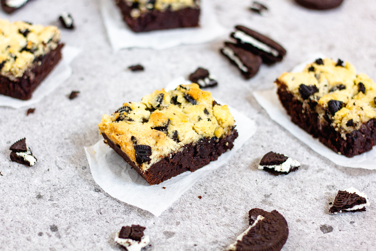 Vegan Oreo Chunk Brookies