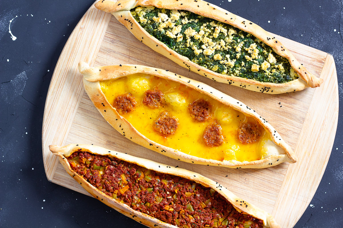 Vegan Pide - 3 Tasty Versions