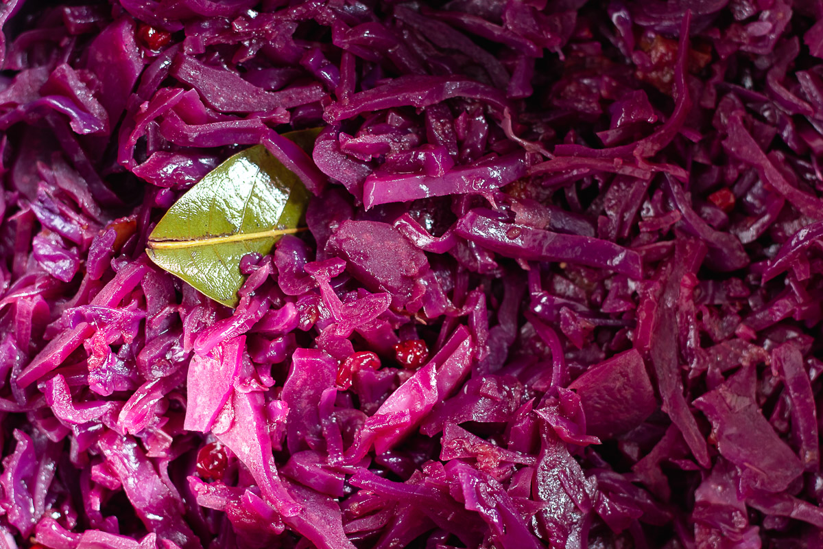 Vegan Red Cabbage with Apple