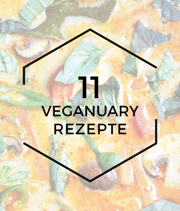 11 einfache Rezepte für den Veganuary