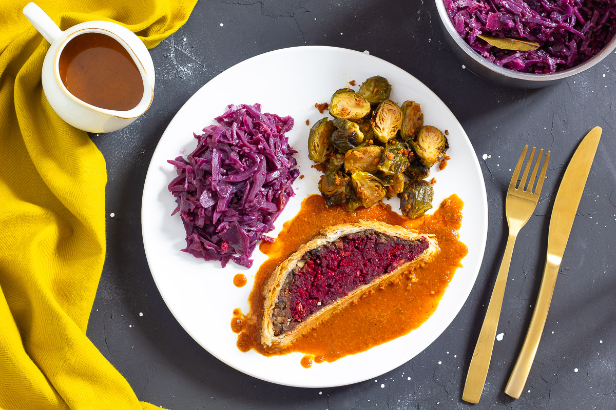 Vegan Beet Wellington