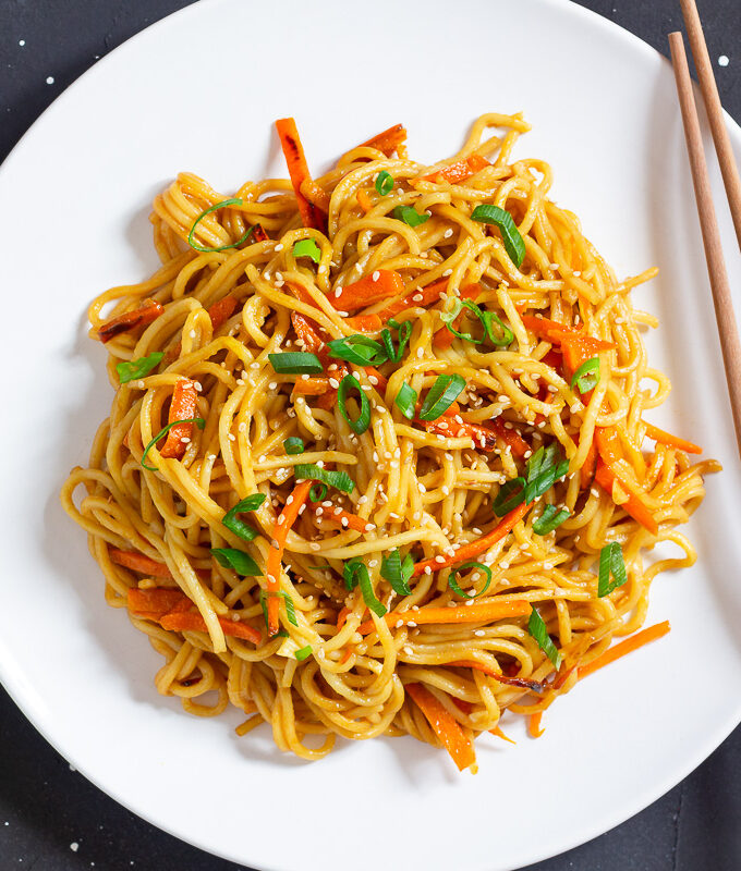 Chinese Fried Noodles - Basic Recipe