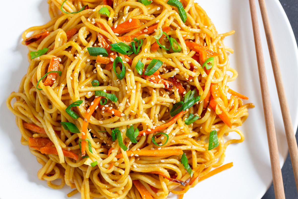 Chinese Fried Noodles - Basic Recipe