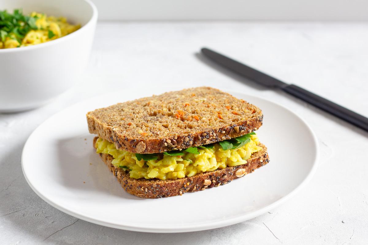 Veganer Eiersalat