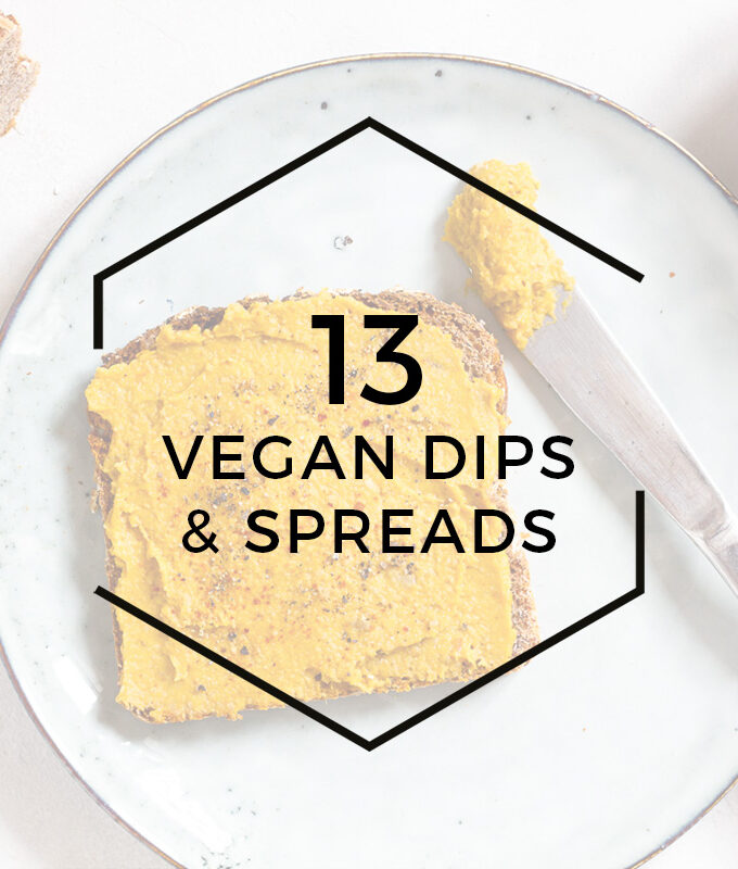 13 Vegan Dips & Spreads