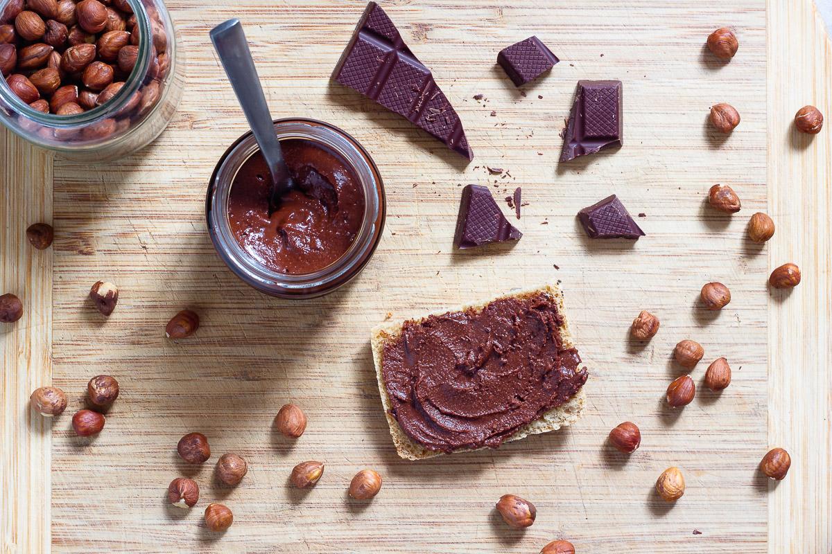 Vegane Nutella (Nuss-Nougat-Aufstrich)
