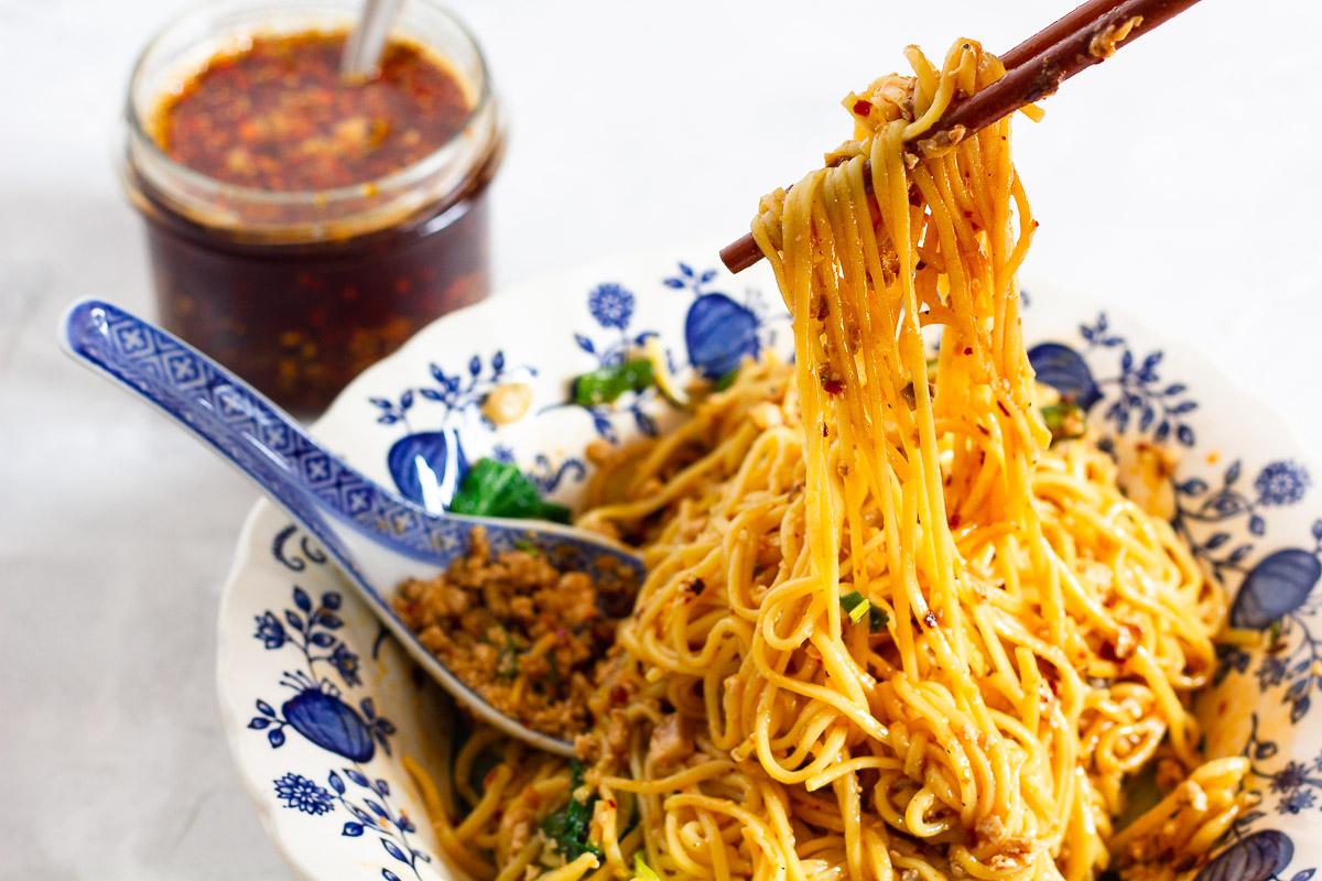 Vegan Dan Dan Mian - Spicy Sichuan Noodles